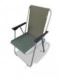 Стул-кресло раскладной Aksetech Fidel green