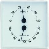 Термогигрометр механический TFA, пластик, 101x32x101 мм