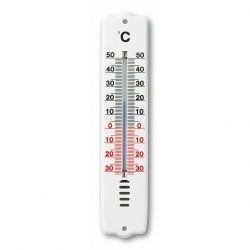 Термометр уличный/комнатный TFA, пластик, 207х44 мм.