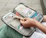 Дорожный органайзер для документов, билетов