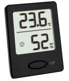 Термогигрометр цифровой TFA 46x18x59 мм чёрный