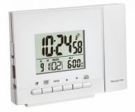 Часы проекционные TFA 60501302 белые