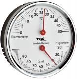 Термогигрометр TFA 45.2041.42 механический d 71х23 мм
