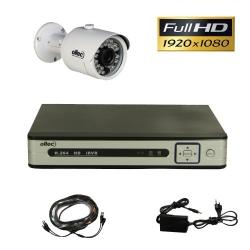 Комплект видеонаблюдения из 1-й камеры и видеорегистратора Oltec AHD-ONE-FullHD