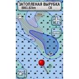 Карта Днепра и Дуная Garmin
