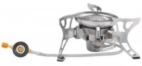 Горелка газовая с пьезоподжигом, со шлангом и подогревом Tramp TRG-012