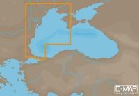 Карта С-МАР MAX-N EM-N120 - Западная часть Черного моря Raymarine