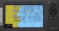 Карта Днепра и Украины для Lowrance