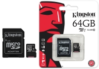 Карта памяти microSD 64Gb (10class)