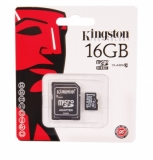 Карта памяти microSD 16Gb (10class)