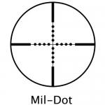 Прицел оптический Barska AirGun 3-12X40 AO (Mil-Dot)