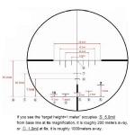 Прицел оптический Hakko Superb 30 1.5-6x42 (SKS IR Red)