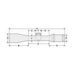 Прицел оптический Hakko Tactical 30 6x42 (SKS IR Red)