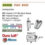 Спальный мешок High Peak Pak 600 / +11C (Right)