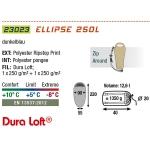 Спальный мешок High Peak Ellipse 250L / +5C (Left)