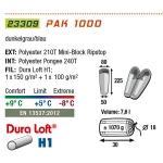 Спальный мешок High Peak Pak 1000 / +5C (Right)