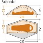 Палатка Wechsel Pathfinder 1 Zero-G Line (Sand)