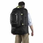 Сумка-рюкзак на колесах Caribee Fast Track 85 Black (921801)