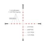 Прицел оптический Hawke Vantage IR 2-7x32 AO (Mil Dot IR R/G)