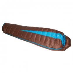 Спальный мешок Sir Joseph Paine 900/190/-12.4C Brown/Turquoise (Right)