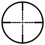 Прицел оптический Hakko Golden Eagle 4-12X40 (Mil Dot)