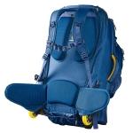Сумка-рюкзак на колесах Caribee Fast Track 85 Navy (922323)