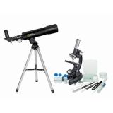 Микроскоп National Geographic Junior 300x-1200x + Телескоп 50/360
