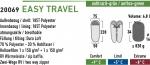 Спальный мешок High Peak Easy Travel / +5C (Left) Black/green