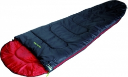 Спальный мешок High Peak Action 250 / +4C (Left) Black/red