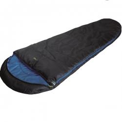 Спальный мешок High Peak TR 300 / +0C (Left) Black/blue