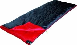 Спальный мешок High Peak Ranger / +7C (Left) Black/red