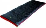 Спальный мешок High Peak Ranger / +7C (Right) Black/red
