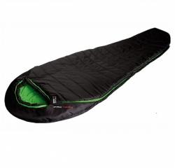 Спальный мешок High Peak Pak 1300 /+3C (Left) Black/green