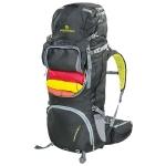 Рюкзак Ferrino Overland 65+10 Black/Yellow