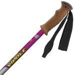 Треккинговые палки Vipole Climber AS QL Cork Roundhead Violet