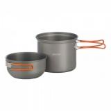 Набор посуды Vango Hard Anodised Cook Kit 1 Person Grey