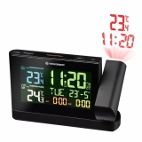 Проекционные часы Bresser Colour TP Black