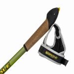 Палки для скандинавской ходьбы Vipole Vario Top-Click Green DLX S1949