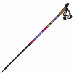 Палки для скандинавской ходьбы Vipole Vario Top-Click Violet DLX S1950