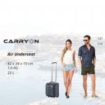 Чемодан CarryOn AIR Underseat (S) Black