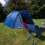 Палатка Vango Carron 400 Moroccan Blue