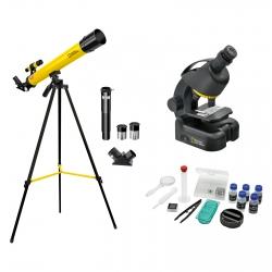 Микроскоп National Geographic Junior 40x-640x + Телескоп 50/600