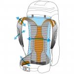 Рюкзак туристический Ferrino Instinct 30+5 White