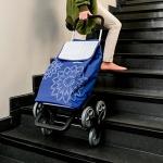 Сумка-тележка Gimi Tris 56 Floral Blue