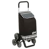 Сумка-тележка Gimi Tris 56 Optical Black
