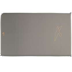 Коврик туристический Easy Camp Self-inflating Siesta Mat Double 5 cm Grey