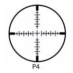 Прицел оптический Barska Ridgeline 4-16x44 SF (P4)