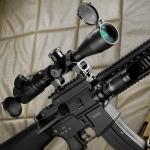 Прицел оптический Barska Point Black 3-12x40 SF (IR 3G)