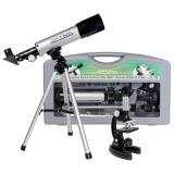 Микроскоп Optima Universer 300x-1200x + Телескоп 50/360 AZ в кейсе (MBTR-Uni-01-103)