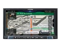 """Мультимедиа 1-DIN Alpine INE-W720D с 7"""" монитором"""